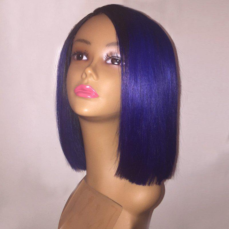 Short Side Part Straight Bob Synthetic Wig 219100001