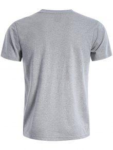 Camiseta De Gr Corta Manga Gr Camiseta De Corta Manga De Camiseta q50TFUx