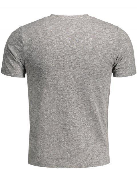 Sweat Top pour teintures spatiales pour hommes - Gris XL Mobile