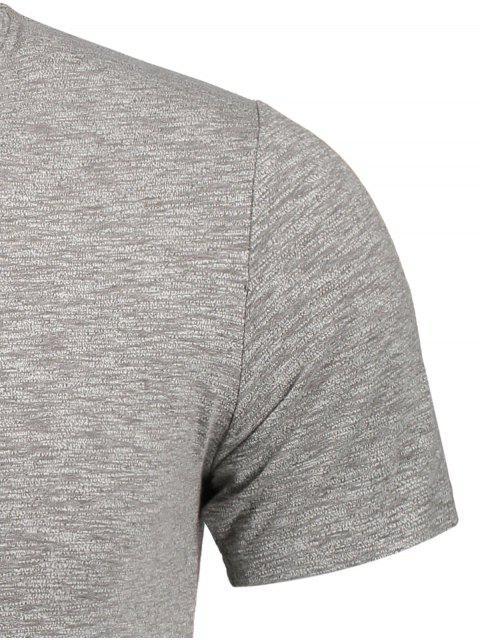 Sweat Top pour teintures spatiales pour hommes - Gris L Mobile