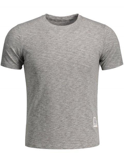 T-shirt Basique - Gris M Mobile