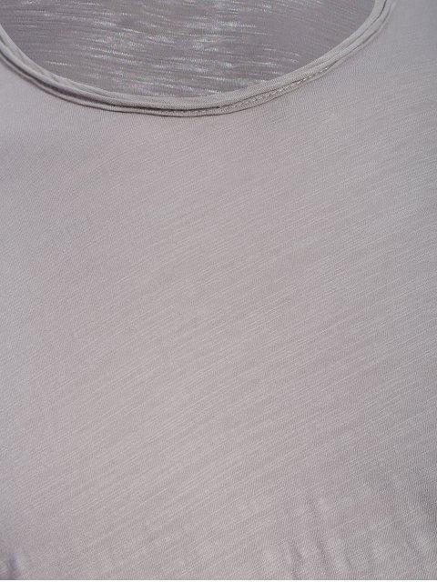T-shirt à manches courtes - Gris 2XL Mobile