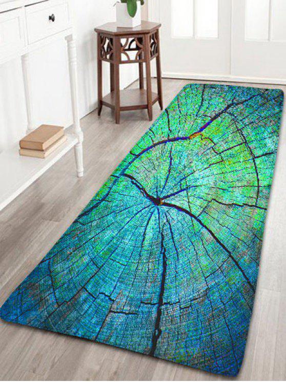 Madera agrietada alfombra de franela alfombra for Alfombra verde para jardin