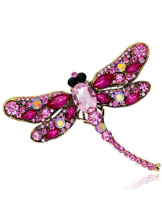 الرجعية فو جوهرة البطانة اليعسوب شكل بروش - نوع من انواع الحلويات يدعى توتي فروتي