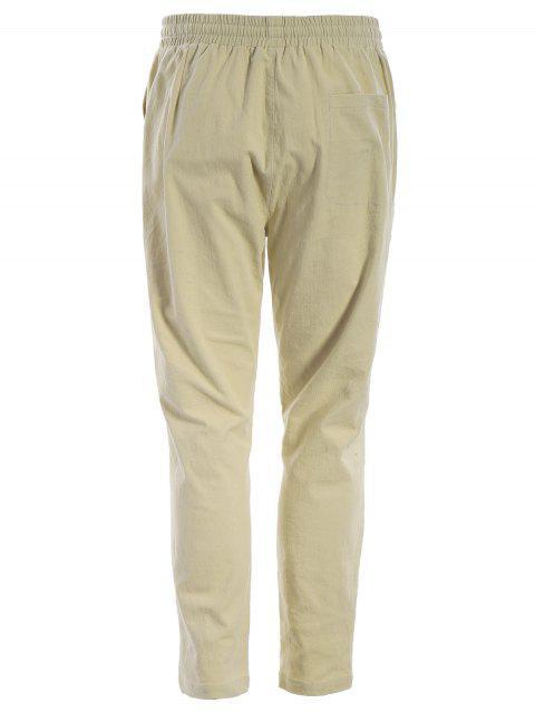 Pantalons de jogging pour hommes - Kaki 2XL Mobile