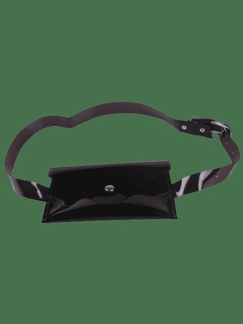Sac à bandoulière portable Jelly Color - Noir  Mobile