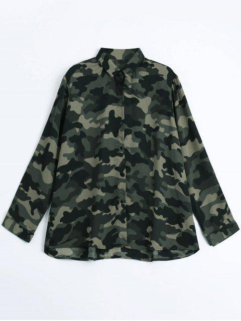 Chemise Camouflage Comfortable Lâche - Camouflage ACU L Mobile