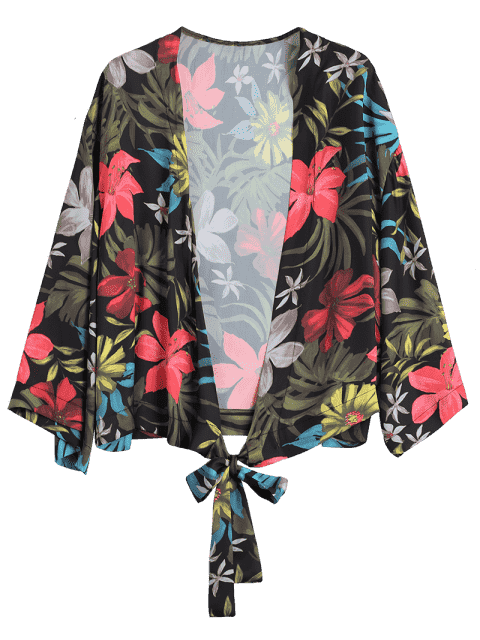 Autocollant Kimono floral - Floral S Mobile