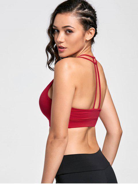 Soutien-gorge sportif rapide à sec - Rouge XL Mobile