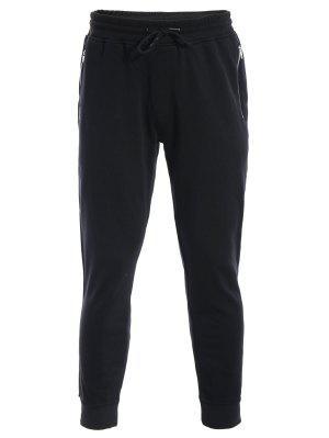 Zip Pockets Mens Joggers Sweatpants