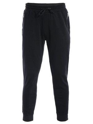 Zip Pockets Mens Joggers Sweatpants