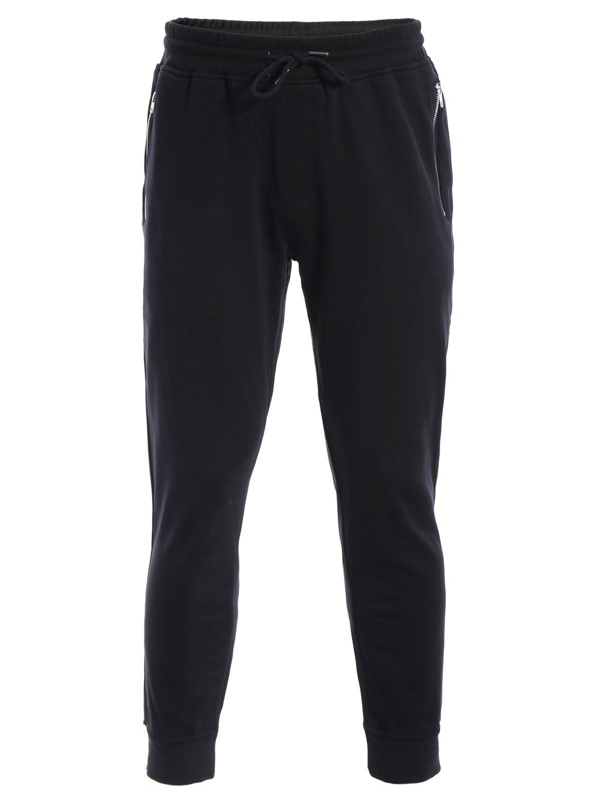 Image of Zip Pockets Mens Joggers Sweatpants