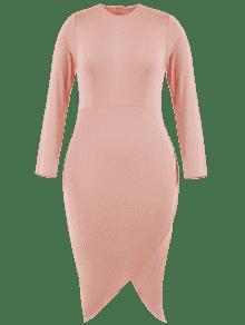 233;trico Con Tallas Bodycon Vestido 4xl Grandes Asim Rosa 5qwtnI8B