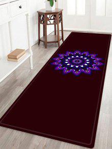 Tissu Mandala Pattern Indoor Outdoor Area - Brun Foncé Largeur 24 Pouces*longueur 71pouces