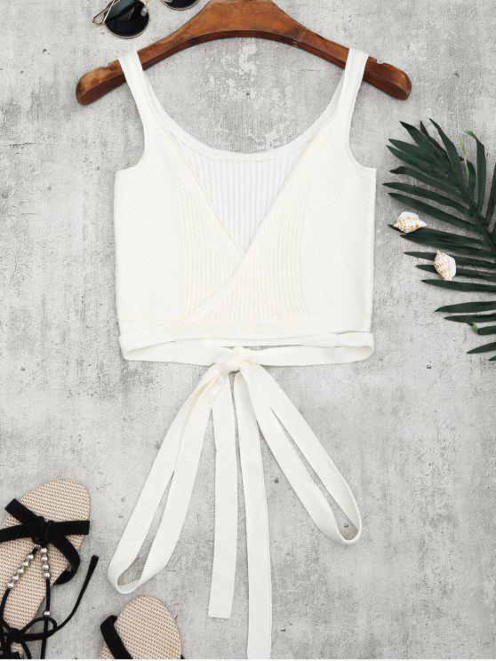 Cuello de punto - Blanco S