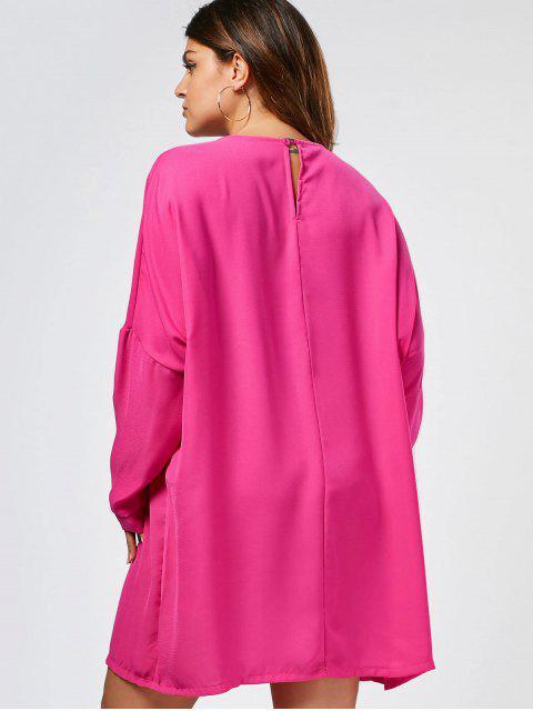 Robe Casual Casual - Sangria 3XL Mobile