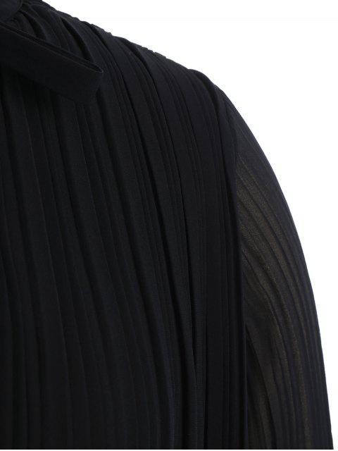 Robe à volants - Noir 2XL Mobile