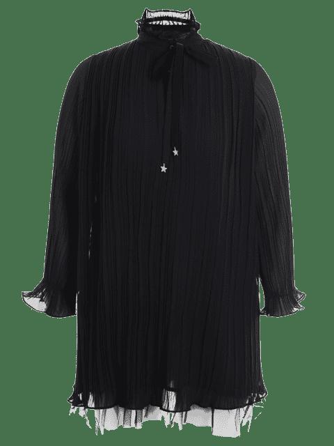 Robe à volants - Noir 3XL Mobile