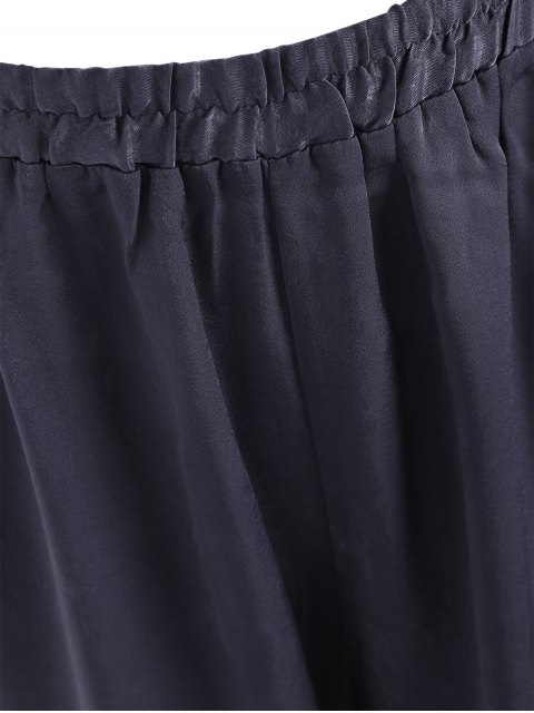 fashion Bow Tie Plus Size Harem Pants - SMASHING 2XL Mobile