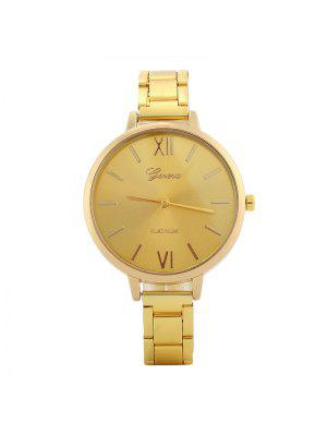 Alloy Strap Roman Numerals Watch