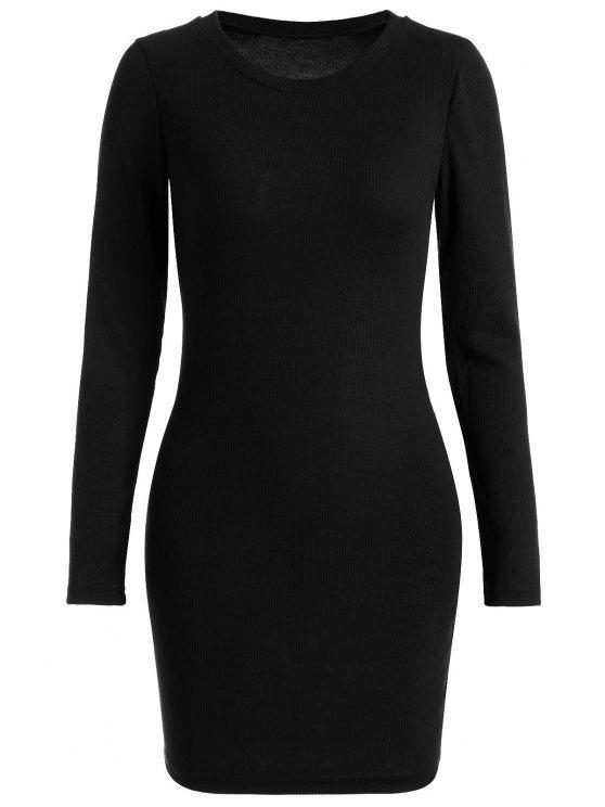 مضلع البسيطة بوديكون محبوك اللباس - أسود L