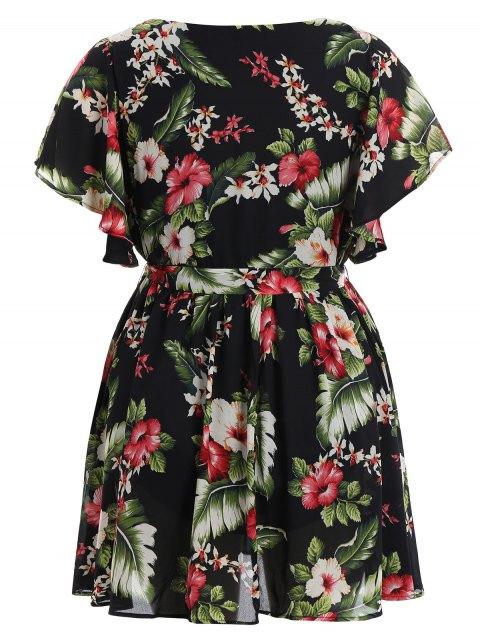 Robe miniature florale taille plus grande - Floral 4XL Mobile