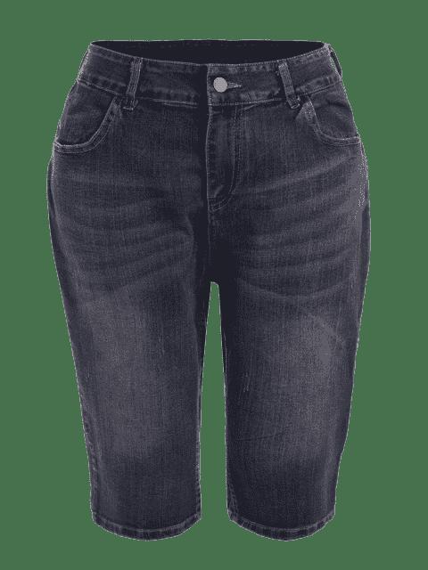 Taille plus rapide - Denim Bleu 2XL Mobile