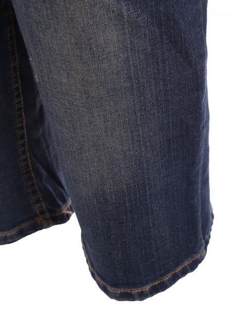 Taille plus rapide - Denim Bleu 4XL Mobile