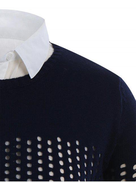 Tricots bas taille haute - Bleu Violet XL Mobile