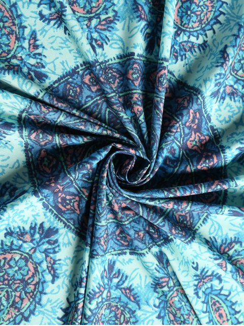 outfits Square Paisley Print Beach Throw - COLORMIX ONE SIZE Mobile