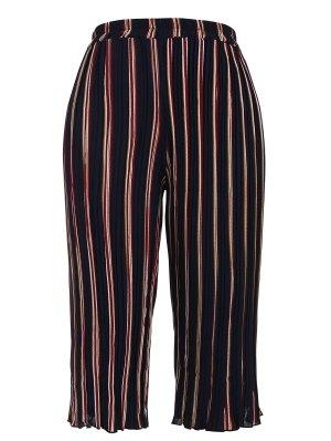 Pantalones De Gaucho Capri - Raya Xl