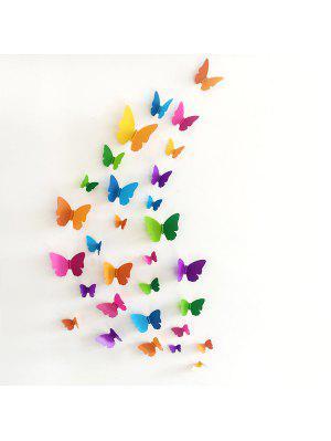 3D Butterfly DIY Home Decor Wall Sticker Set