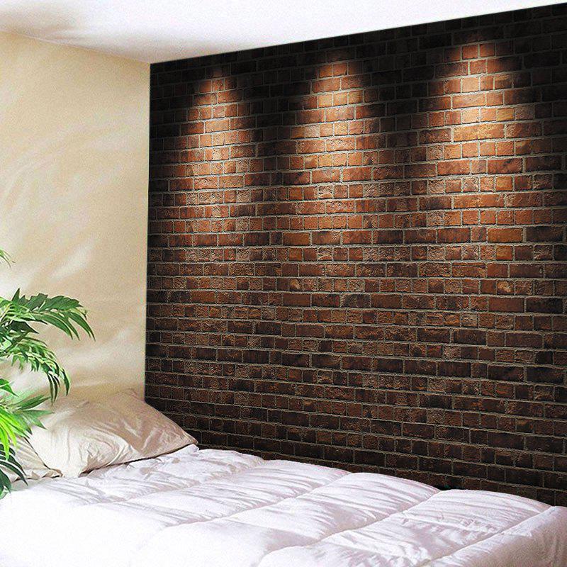 Vanuatu Flag Brick Wall Design Messenger Bag