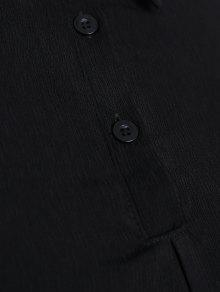 De Grande Con Plus Doble 2xl Size Negro Capa Talla Blusa xCHPqXXd