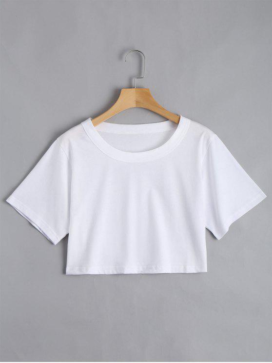 Top en Coton - Blanc Taille Unique