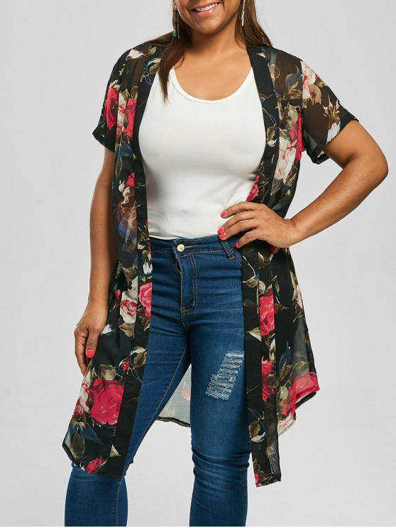 Short Kimono Top Plus Size