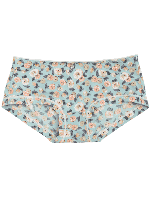 outfits Tiny Floral Hipster Under Panty - FLORAL ONE SIZE Mobile