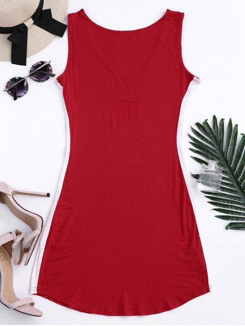 Robe Bodycon - Rouge XL Mobile