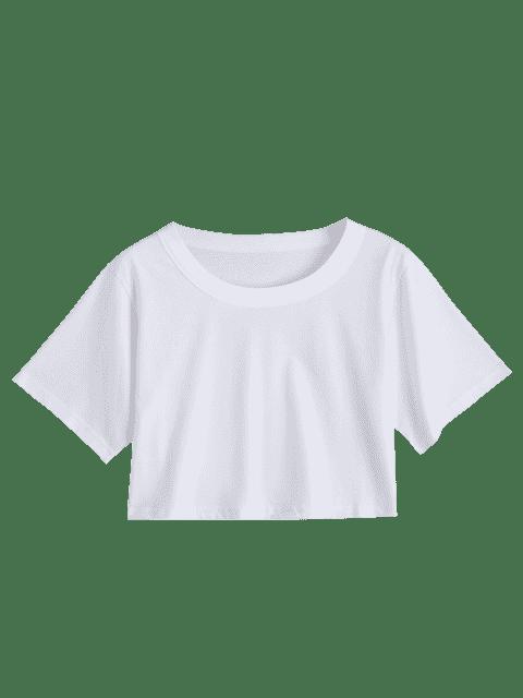 Dessus de cravate brodé floral - Blanc TAILLE MOYENNE Mobile