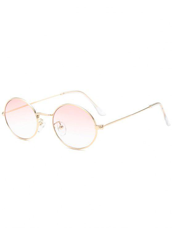 shops Oval UV Protection Sunglasses - LIGHT PINK