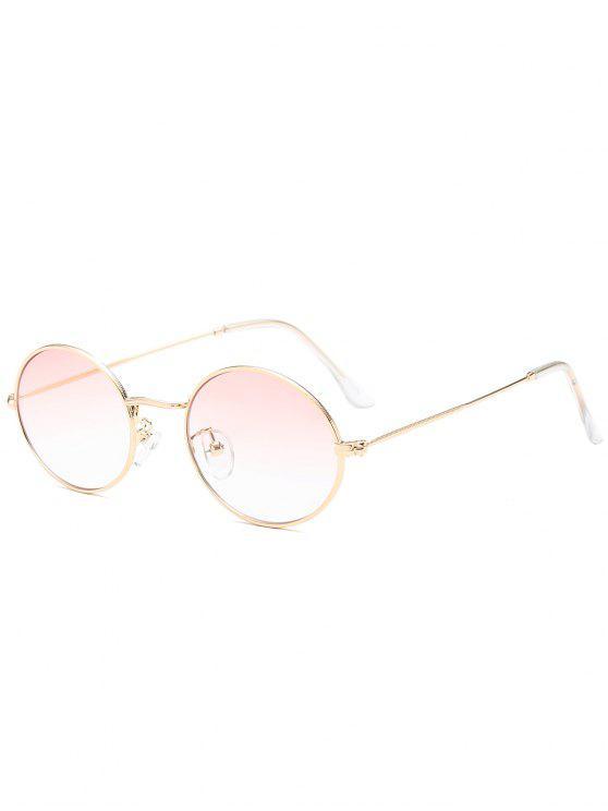 Oval Lunettes de soleil de protection UV - Rose Clair