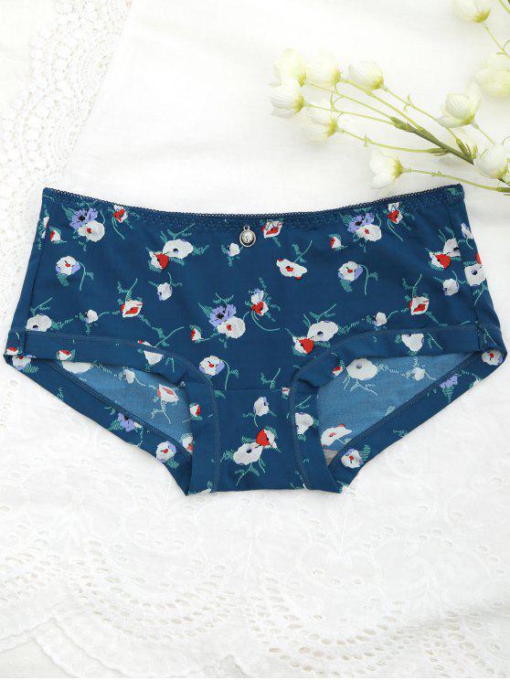 دافئ صغير الأزهار محب اللباس الداخلي - المسرطنة حجم واحد