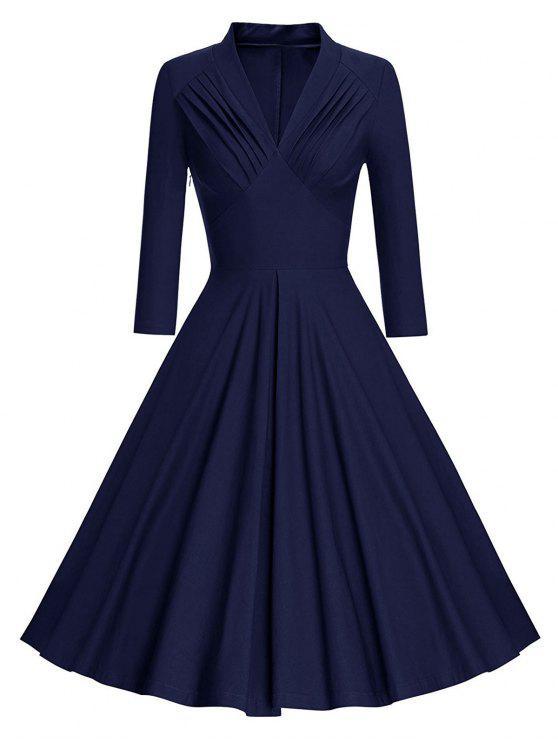 Long Sleeve Pinup Dress