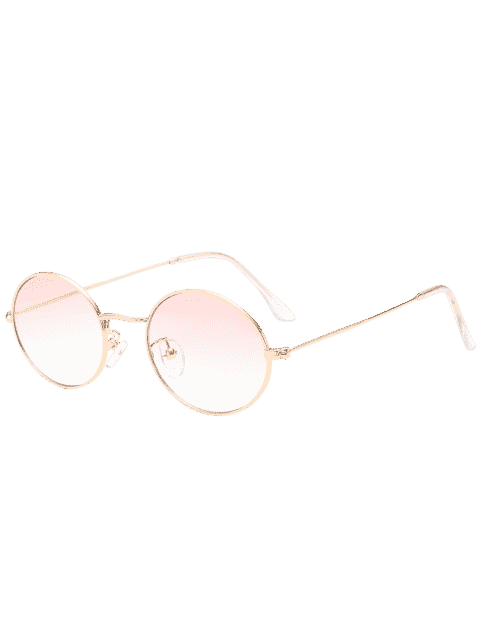 shops Oval UV Protection Sunglasses - LIGHT PINK  Mobile