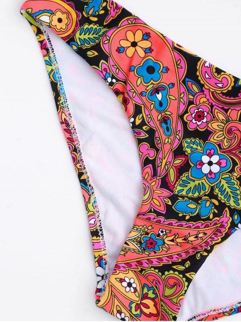 women's Fuller Bust Underwire Moulded Bikini Set - FLORAL S Mobile