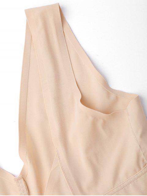 online Full Body Shaper Girdle Shapewear - NUDE L Mobile