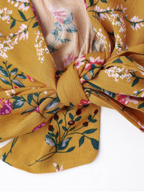 Floral Cami Top avec Ensemble Shorts - Floral L Mobile