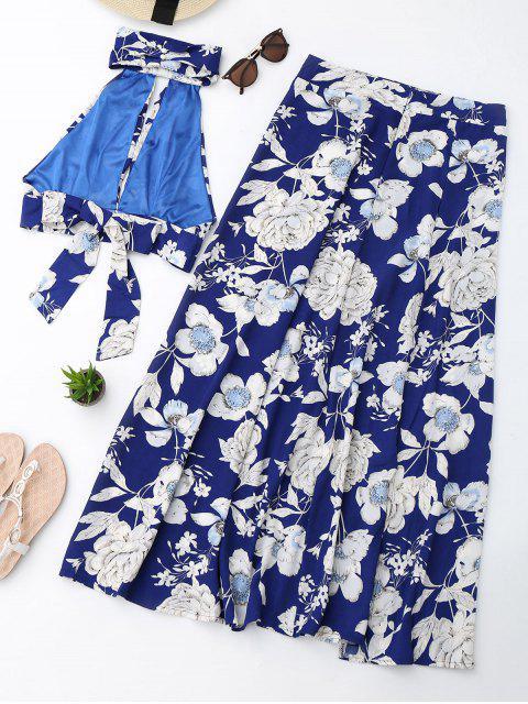 Ensemble de jupe en raffiné et découpage floral - Floral M Mobile