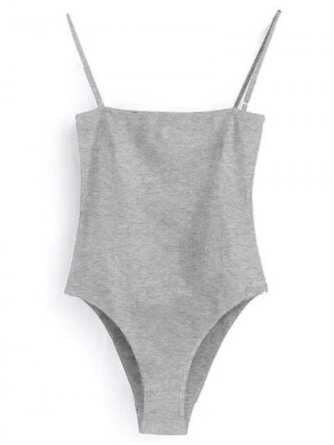 Leibchen Bodysuit - Grau M Mobile