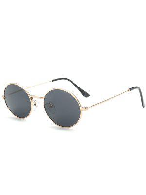 Gafas De Sol De Protección UV Oval - Negro